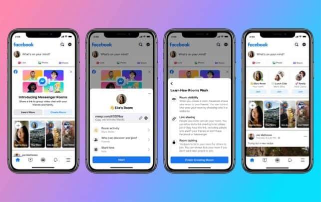ما هي Facebook Rooms و كيف تعمل ؟ 1