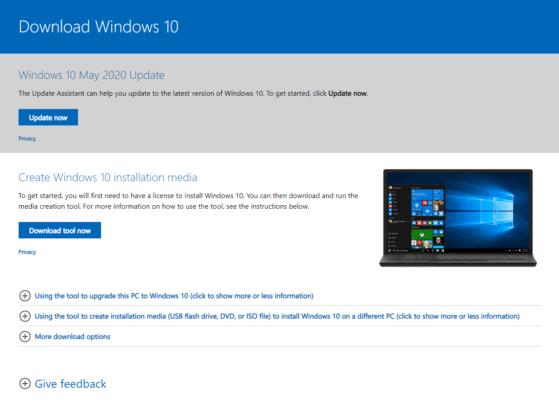 تحميل ويندوز 10 آخر إصدار بشكل رسمي مع شرح التثبيت 1