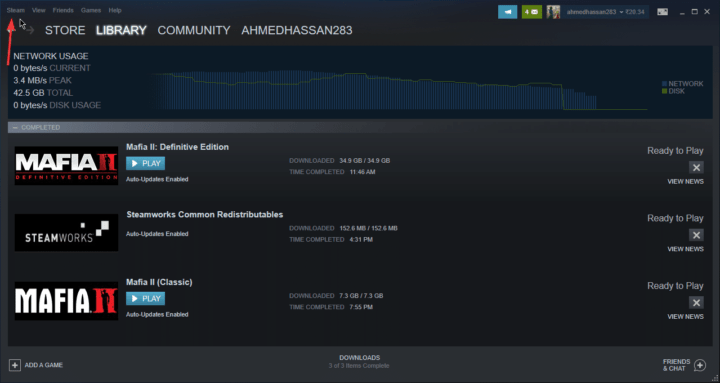 طريقة تغيير مجلد Screenshots في Steam على ويندوز 10 2