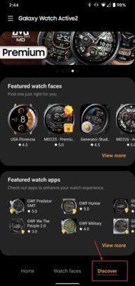 طريقة تثبيت التطبيقات على Galaxy Watch الذكية 2