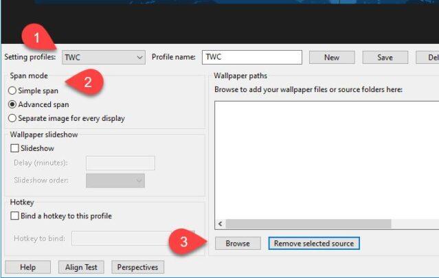 أفضل برنامج تحكم في خلفيات الشاشات المزدوجة على ويندوز 10 1