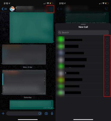طريقة إستخدام Group Video Chat على واتس آب 2