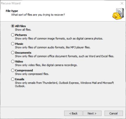 كيفية استرجاع الملفات المفقودة على ويندوز 10 4