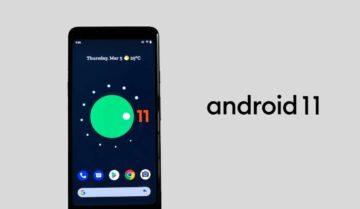 اطلاق Android 11 النسخة التجريبية 1