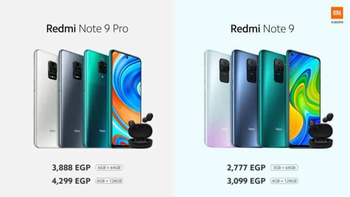 اطلاق سلسلة Redmi Note 9 في مصر رسميًا 5