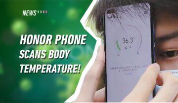تسريب هاتف Honor Play 4 بكاميرا لقياس درجة الحرارة 2