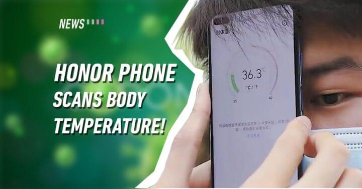 تسريب هاتف Honor Play 4 بكاميرا لقياس درجة الحرارة