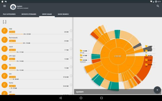 كيفية تفريع مساحة تخزين Android الممتلئة 3