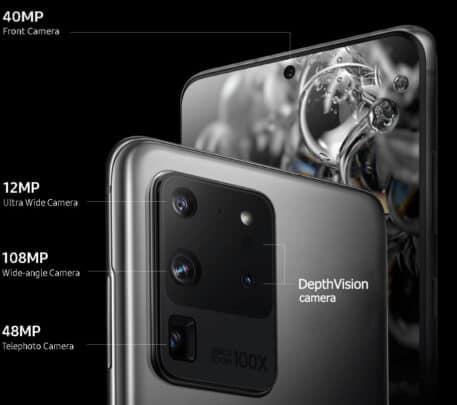 تسريبات Galaxy Note 20 Plus مواصفات الكاميرات 1