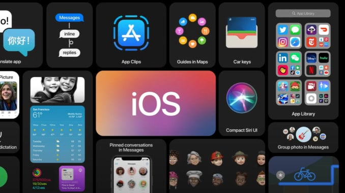 مميزات IOS 14 المعلن عنها على اجهزة ايفون