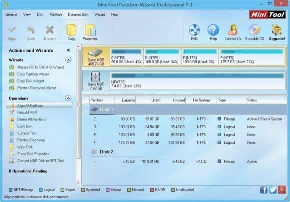 افضل برامج الكمبيوتر لإدارة الأقراص الصلبة على ويندوز 10 1