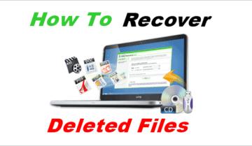 طريقة استعادة الملفات المحذوفة بدون برامج على ويندوز 10 8