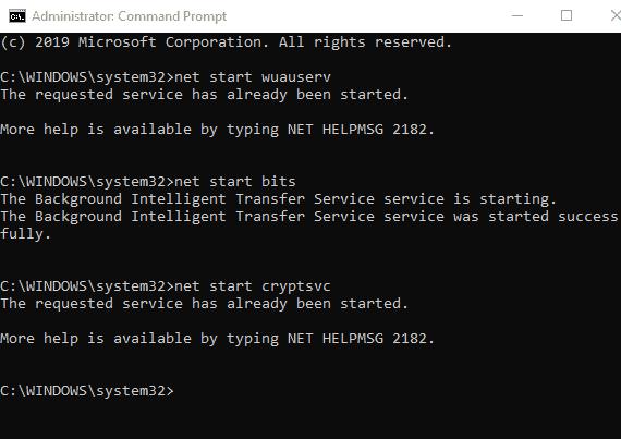 إصلاح خطأ 8024A000 عند تحديث ويندوز 10 3