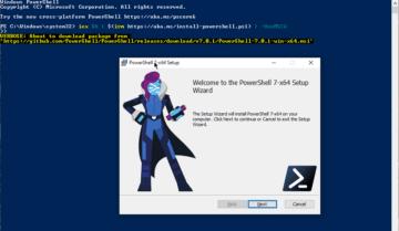 طريقة تثبيت PowerShell 7.0 على أي نظام تشغيل 6