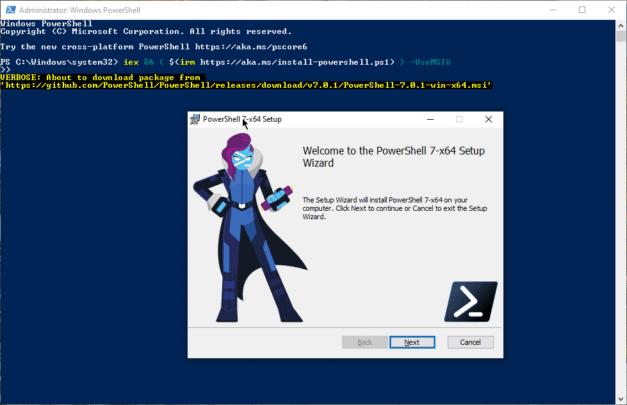 طريقة تثبيت PowerShell 7.0 على أي نظام تشغيل 1