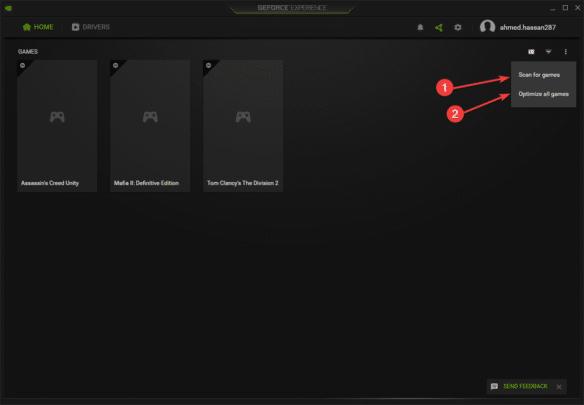 طريقة إضافة الألعاب إلى برنامج Geforce Experience على ويندوز 10 2