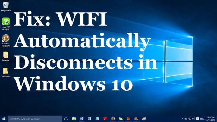 حل مشكلة انقطاع الواي فاي على اجهزة اللابتوب بويندوز 10,8,7