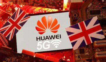 Huawei تم حظرها في المملكة المتحدة 5