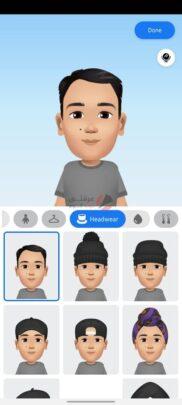 تعرف على ستيكر Facebook avatar و كيف تنشأ شخصيتك الكرتونية 13