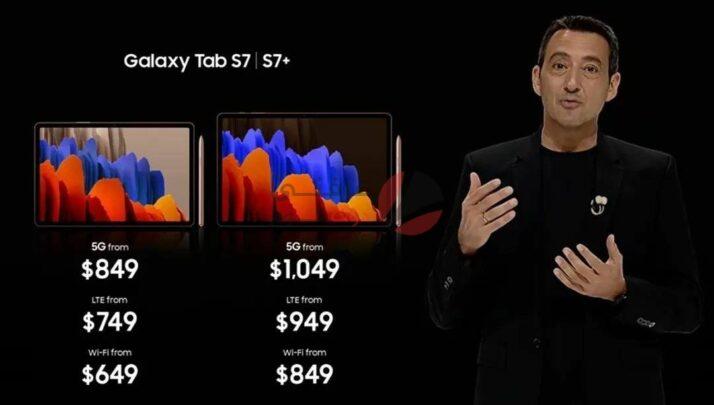الإعلان عن Samsung Galaxy Tab S7 رسميًا 4