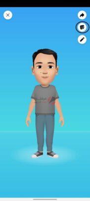 تعرف على ستيكر Facebook avatar و كيف تنشأ شخصيتك الكرتونية 15