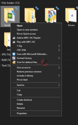 كيفية تنظيم الملفات على ويندوز 10 بشكل جيد 5