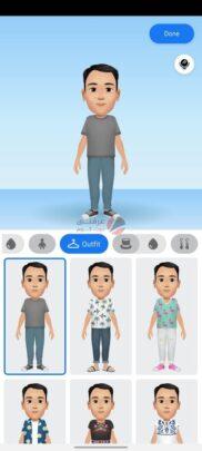 تعرف على ستيكر Facebook avatar و كيف تنشأ شخصيتك الكرتونية 12