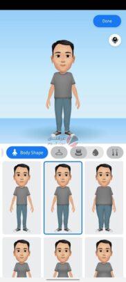 تعرف على ستيكر Facebook avatar و كيف تنشأ شخصيتك الكرتونية 11