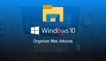كيفية تنظيم الملفات على ويندوز 10 بشكل جيد 1