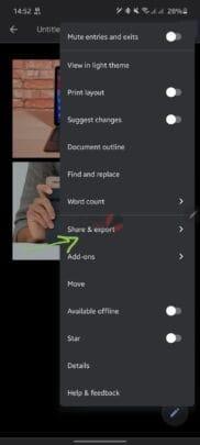 كيفية حفظ الصور من Google Docs على ويندوز 10 و اندرويد و IOS 7