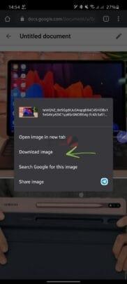 كيفية حفظ الصور من Google Docs على ويندوز 10 و اندرويد و IOS 9