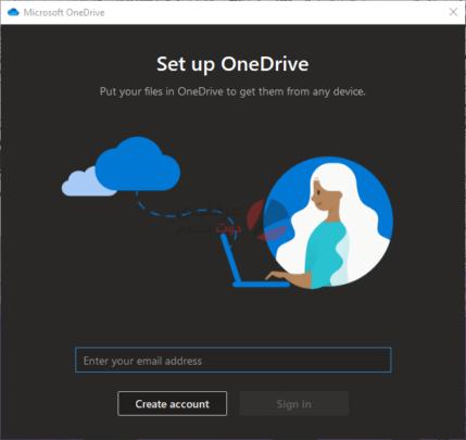 طريقة إضافة أكثر من حساب OneDrive على جهاز كومبيوتر واحد 1