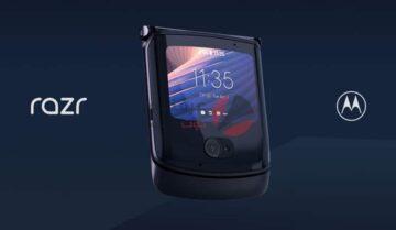 الإعلان عن Motorola Razr 5G القابل للطي 7