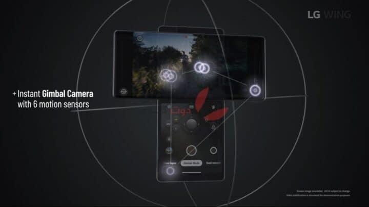 إطلاق LG Wing 5G بتصميم غريب جدًا 2