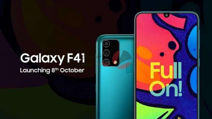 سعر ومواصفات Samsung Galaxy F41 - مميزات وعيوب سامسونج جالاكسي اف 41 1