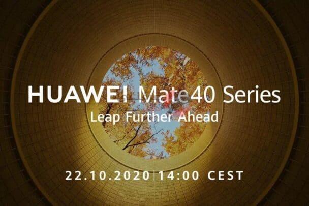 اطلاق Huawei Mate 40 يوم 22 اكتوبر كآخر Android من هواوي 2