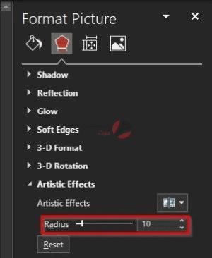 طريقة تعديل الصور بوربوينت وإضافة Blur بكل سهولة 3