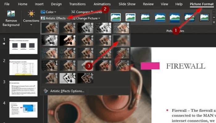 طريقة تعديل الصور بوربوينت وإضافة Blur بكل سهولة 1