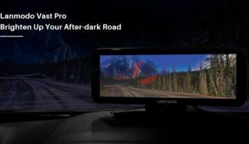 كاميرا Lanmodo Vast Pro للرؤية الليلة أثناء قيادة السيارة 9