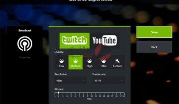 اضافة Nvidia Broadcast تحول غرفتك الى استوديو بث مباشر للألعاب 8