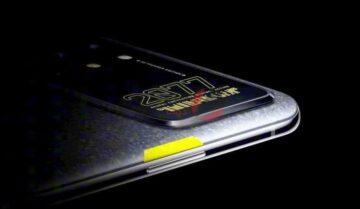 اطلاق OnePlus 8T النسخة الخاصة بتصميم Cyberpunk 2077 1