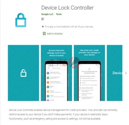 تطبيق Device Lock Controller تطبيق خفي من جوجل لن يصبح متاحًا للجميع 1