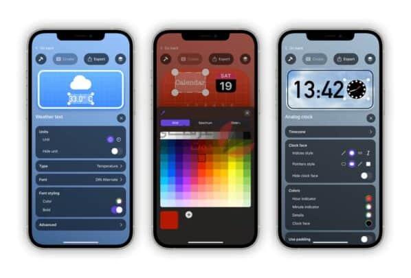Flex Widgets يسمح لك بإنشاء اختصارات تطبيقات مصغرة على iOS 14 1