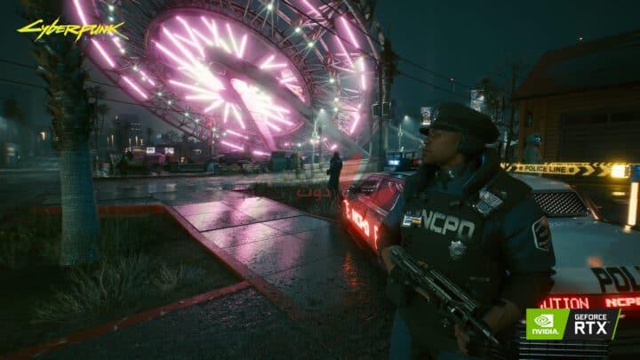 تقنيات RTX وتحسين الأداء في لعبة Cyberpunk 2077 1
