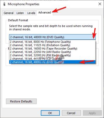 كيفية حل مشاكل الصوت في ويندوز 10 5
