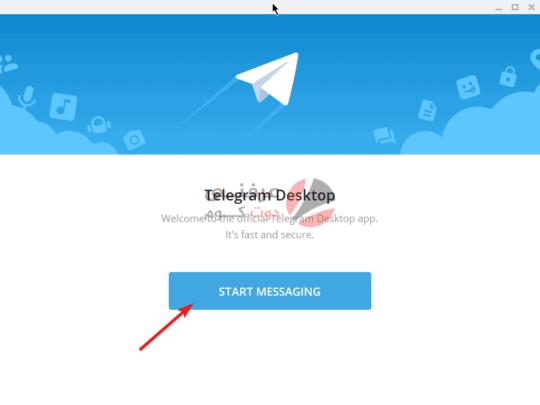 طريقة استخدام تيليجرام على ويندوز 10 1