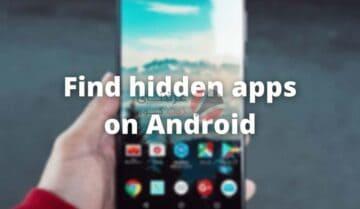 كيفية البحث عن التطبيقات المخفية على Android 5