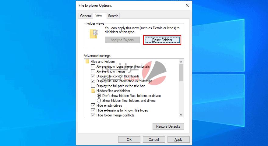 17 طريقة لحل مشكلة File Explorer Not Responding علي ويندوز 10 18