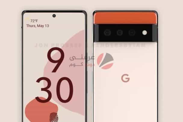 تسريبات Google Pixel 6 توضح تصميم جديد غريب نوعًا ما 2