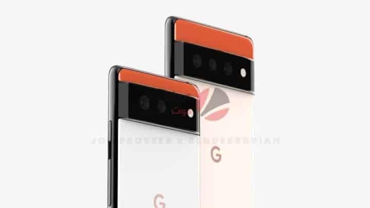 تسريبات Google Pixel 6 توضح تصميم جديد غريب نوعًا ما 4
